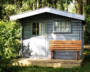 Bild Gartenhaus Holzschutz