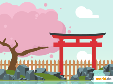 Grafik Gestaltungstipps für Japanische Gärten