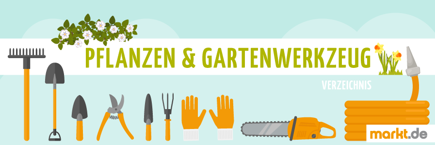 Bild Verzeichnis Pflanzen & Werkzeug für Garten