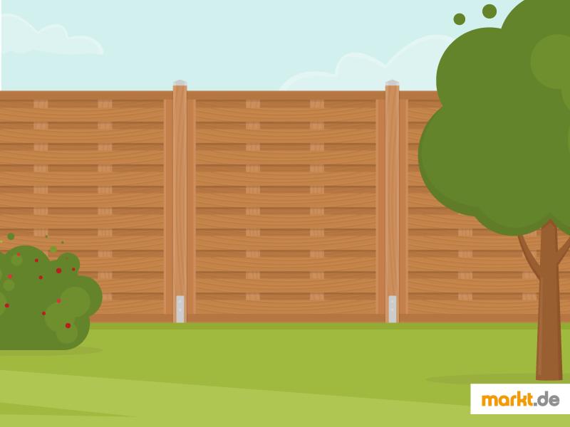 Ein Sichtschutz Bewahrt Sie In Ihrem Garten Vor Den Neugierigen Blicken Der  Nachbarn. (Einfach Klicken Zum Vergrößern)