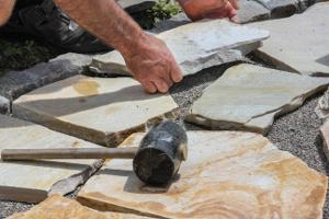 Bild Platten für den Steingarten