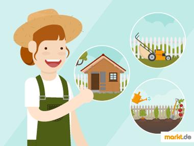 Grafik Tipps zur Gartenarbeit