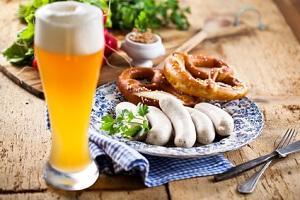 Bild bayrische Spezialitäten