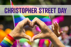 Grafik Christopher Street Day CSD