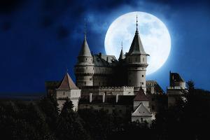 Bild Schloss bei Nacht