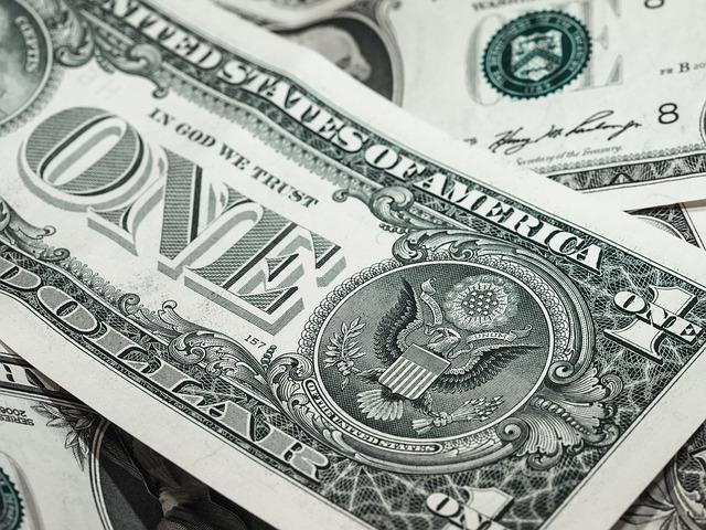 Bild amerikanischer Dollarschein