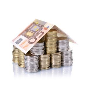 Bild Haus aus Geld