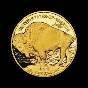 Bild Goldmünze sammeln American Buffalo