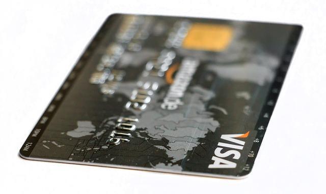 Bild VISA Kreditkarte für Onlinebezahlungen