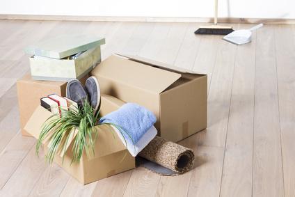 Pakete mit Gegenständen