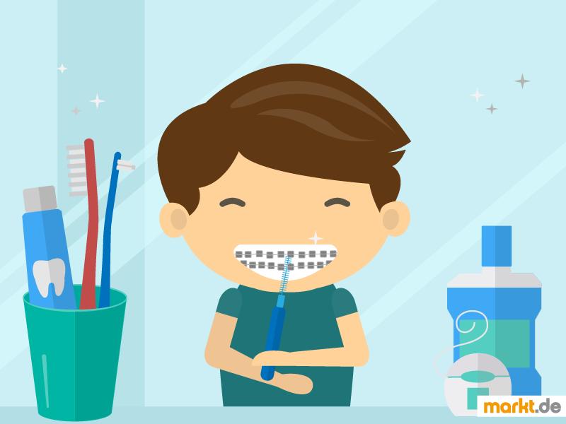 Reinigung von festen und losen Zahnspangen | markt.de