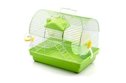 Bild Hamsterkäfig Gitterstäbe