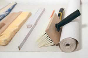 Tapezieren Werkzeug