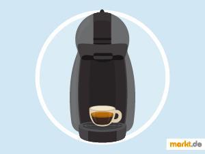 Bild schwarze Dolce Gusto Kaffeemaschine