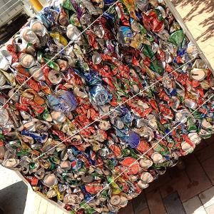 Bild Dosen werden recycelt