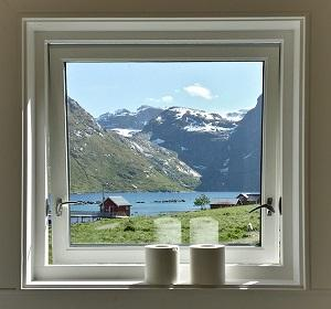 Fenster in Norwegen
