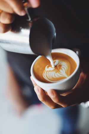 Bild Kaffeevollautomat Kaffee