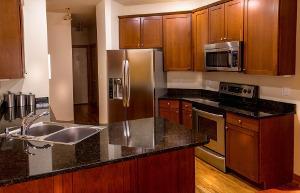 Bild Mikrowelle in der Küche