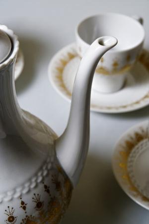 Bild Porzellan Service Kaffee
