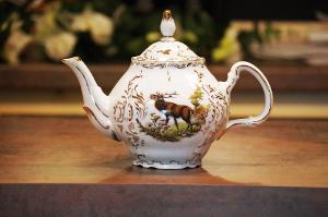 Bild Teekanne Porzellan Antik