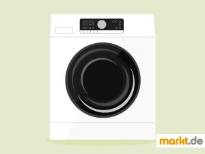 Bild weiße Waschmaschine