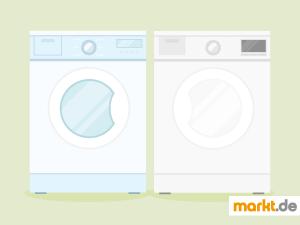 Bild Waschmaschine und Trockner nebeneinander