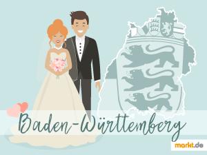 Grafik Romantische Orte Baden-Württemberg