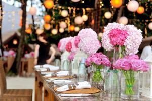 Bild Blumenschmuck Hochzeit