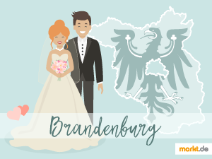 Grafik Romantische Hochzeitslocations in Brandeburg