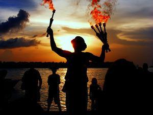 Bild Feuershow