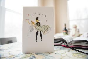Bild Einladungskarte zur Hochzeit