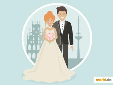 Grafik Hochzeit Münster