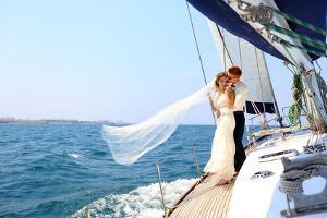 Bild Hochzeit Schiff