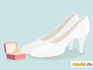 Grafik Tipps für Brautschuhe