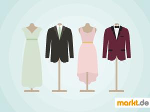 Grafik Dresscode zur Hochzeit