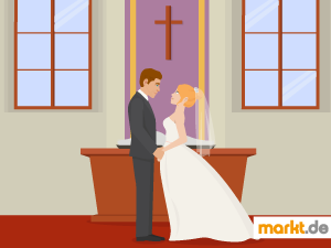 Grafik kirchlich heiraten