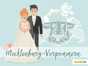 Grafik Romantische Orte in Mecklenburg-Vorpommern
