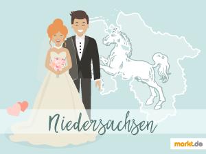 Grafik Romantische Locations in Niedersachsen