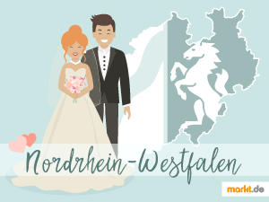 Grafik Romantische Locations in Nordrhein-Westfalen