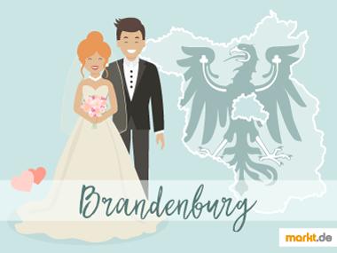 Grafik Romantische Orte für eine Hochzeit Brandenburg
