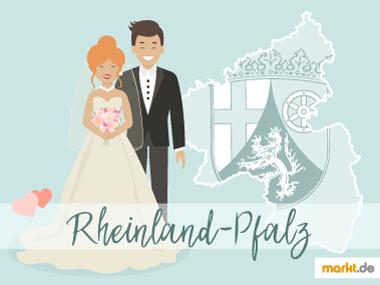 Grafik Romantische Orte für eine Hochzeit Rheinland Pfalz