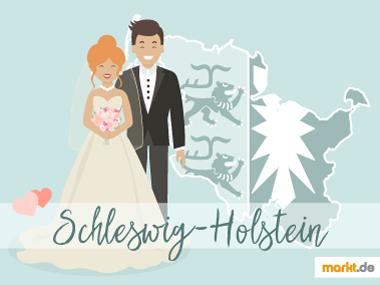 Grafik Romantische Orte für eine Hochzeit Schleswig Holstein