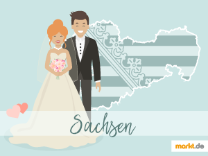 Grafik Romantische Hochzeitslocations in Sachsen