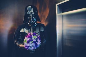 Bild Star Wars Hochzeit
