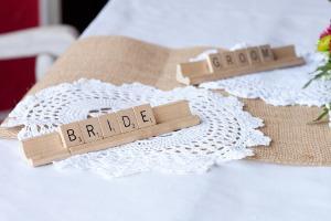 Bild Tischkarten Hochzeit
