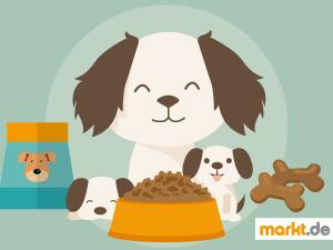 Bild artgerechte Ernährung Hund