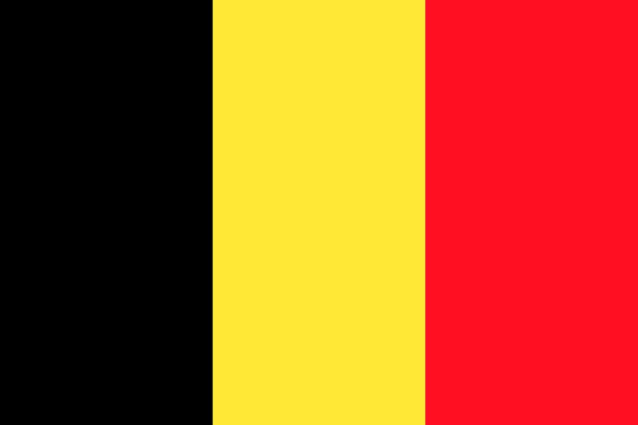Bild Fahne Belgien