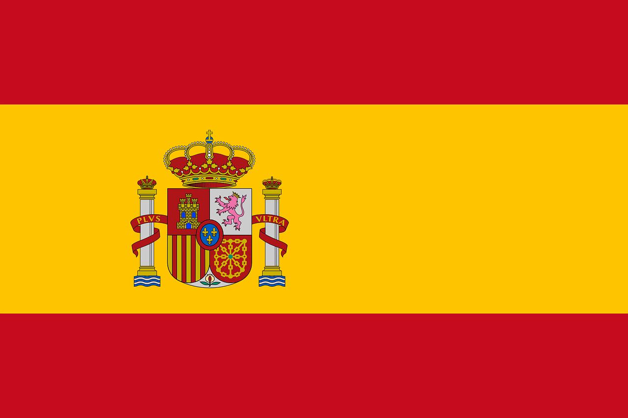Bild Fahne Spanien