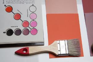 Bild Malerausrüstung Farbpalette
