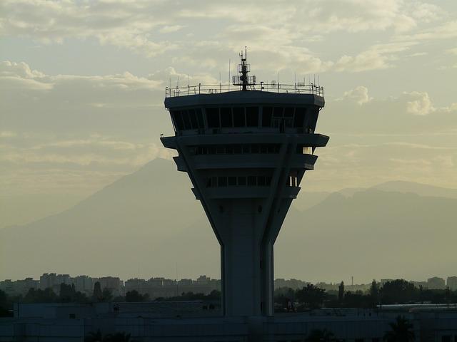 Bild Flughafentower